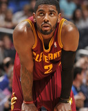 Apr 2, 2014, Cleveland Cavaliers vs Orlando Magic - Kyrie Irving Photographic Print by Fernando Medina