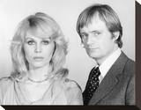 Sapphire & Steel (1979) Stretched Canvas Print