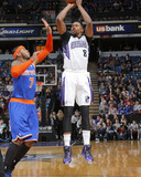 Mar 26, 2014, New York Knicks vs Sacramento Kings - Rudy Gay, Carmelo Anthony Photographic Print by Rocky Widner