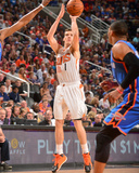 Apr 6, 2014, Oklahoma City Thunder vs Phoenix Suns - Goran Dragic Photographic Print by Barry Gossage