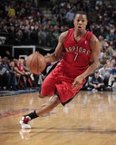 Dec 20, 2013, Toronto Raptors vs Dallas Mavericks - Kyle Lowry Photographic Print by Danny Bollinger