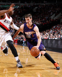 Apr 4, 2014, Phoenix Suns vs Portland Trail Blazers - Goran Dragic Photographic Print by Sam Forencich