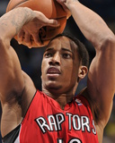 Mar 30, 2014, Toronto Raptors vs Orlando Magic - DeMar DeRozan Photographic Print by Fernando Medina