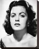 Faith Domergue Stretched Canvas Print