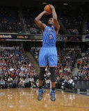 Apr 8, 2014, Oklahoma City Thunder vs Sacramento Kings - Serge Ibaka Photographic Print by Rocky Widner