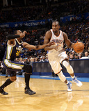 Mar 30, 2014, Utah Jazz vs Oklahoma City Thunder - Serge Ibaka Photographic Print by Layne Murdoch