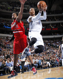 Mar 7, 2014, Portland Trail Blazers vs Dallas Mavericks - Monta Ellis Photographic Print by Danny Bollinger