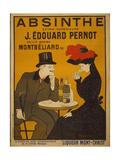 Reclameposter Absinthe, Franse tekst Premium giclée print