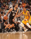 Mar 31, 2014, San Antonio Spurs vs Indiana Pacers - Tony Parker Photo by Ron Hoskins