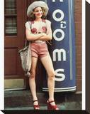 Jodie Foster, Taxi Driver (1976) Stretched Canvas Print