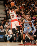 Mar 14, 2014, Memphis Grizzlies vs Toronto Raptors - DeMar DeRozan Photographic Print by Ron Turenne