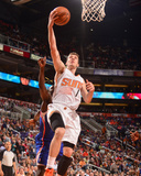 Apr 2, 2014, Los Angeles Clippers vs Phoenix Suns - Goran Dragic Photographic Print by Barry Gossage