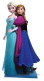Anna & Elsa - Frozen Silhouette en carton