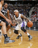 Mar 21, 2014, San Antonio Spurs vs Sacramento Kings - Isaiah Thomas Photographic Print by Rocky Widner