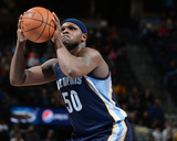 Mar 31, 2014, Memphis Grizzlies vs Denver Nuggets - Zach Randolph Photo by Garrett Ellwood