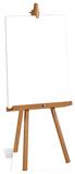 Large Blank Sign Standup Poster Pappfigurer