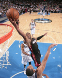Feb 18, 2014, Miami Heat vs Dallas Mavericks - Dwayne Wade Photographic Print by Glenn James