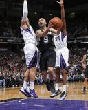 Mar 21, 2014, San Antonio Spurs vs Sacramento Kings - Tony Parker Fotografisk trykk av Rocky Widner