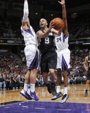 Mar 21, 2014, San Antonio Spurs vs Sacramento Kings - Tony Parker Photographic Print by Rocky Widner