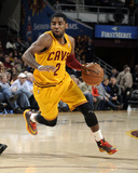 Feb 28, 2014, Utah Jazz vs Cleveland Cavaliers - Kyrie Irving Photographic Print by David Liam Kyle