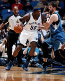 Apr 2, 2014, Memphis Grizzlies vs Minnesota Timberwolves - Kevin Love, Zach Randolph Photo by David Sherman