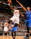 Apr 6, 2014, Oklahoma City Thunder vs Phoenix Suns - Eric Bledsoe Photographic Print by Barry Gossage