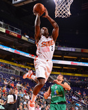 Oct 7, 2013, Phoenix Suns vs Maccabi Haifa - Eric Bledsoe Photographic Print by Barry Gossage