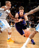 Feb 18, 2014, Phoenix Suns vs Denver Nuggets - Goran Dragic Photographic Print by Garrett Ellwood