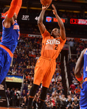 Mar 28, 2014, New York Knicks vs Phoenix Suns - Eric Bledsoe Photographic Print by Barry Gossage