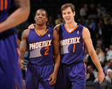 Dec 20, 2013, Phoenix Suns vs Denver Nuggets - Eric Bledsoe, Goran Dragic Photographic Print by Bart Young