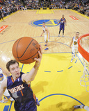 Mar 9, 2014, Phoenix Suns vs Golden State Warriors - Goran Dragic Photographic Print by Rocky Widner