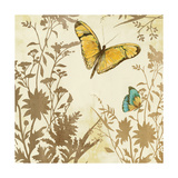 Butterfly in Flight I Giclee Print by Anna Polanski