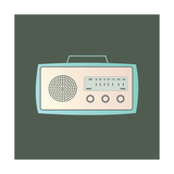 MCM Radio I Prints by Sloane Addison