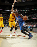 Mar 20, 2014, Oklahoma City Thunder vs Cleveland Cavaliers - Serge Ibaka Photographic Print by Gregory Shamus