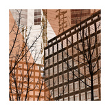City Trees IV Print by Kevin Calaguiro