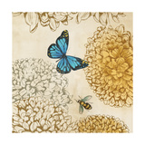 Butterfly in Flight II Giclee Print by Anna Polanski
