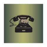 MCM Telephone Giclee Print by Sloane Addison