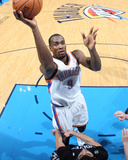 Feb 5, 2014, Minnesota Timberwolves vs Oklahoma City Thunder - Serge Ibaka Photographic Print by Layne Murdoch
