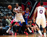 Mar 31, 2014, Philadelphia 76ers vs Atlanta Hawks - Paul Millsap Photo by Scott Cunningham