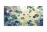 Teal Lily Giclee Print by Anna Polanski