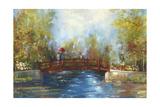 Bridge over the water Prints by Anna Polanski
