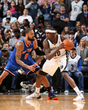 Feb 18, 2014, New York Knicks vs Memphis Grizzlies - Zach Randolph Photo by Joe Murphy