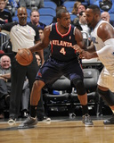 Jan 22, 2014, Atlanta Hawks vs Orlando Magic - Paul Millsap Photo by Fernando Medina