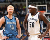 Mar 21 2014, Minnesota Timberwolves vs Memphis Grizzlies - Zach Randolph Photo by Joe Murphy