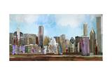 The City Giclee Print by Anna Polanski