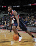 Feb 21, 2014, Atlanta Hawks vs Detroit Pistons - Paul Millsap Photographic Print by Allen Einstein