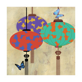 Butterfly Lanterns Posters by Andrew Michaels
