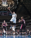Jan 18, 2014, Portland Trail Blazers vs Dallas Mavericks - Monta Ellis Photographic Print by Glenn James
