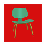 Mid Century Chair II Giclee Print by Sloane Addison
