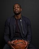 NBA All-Star Portraits 2014: Feb 14 - Dwayne Wade Photographic Print by Jennifer Pottheiser